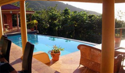 BVI Villa With Pool
