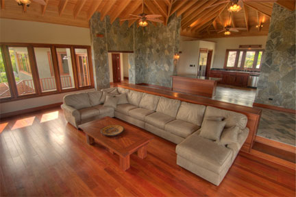 BVI Villa Interior