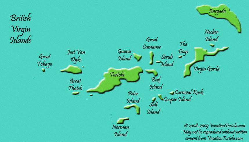 Where Is Virgin Islands On A Map