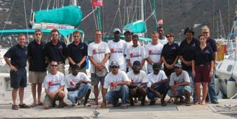 Virgin Islands Bareboat Charters Crew